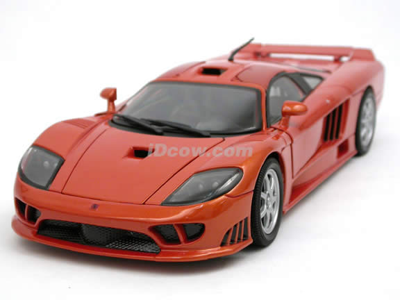 Saleen S7 For Sale >> 2001 Saleen S7 diecast model car 1:18 scale die cast by ...