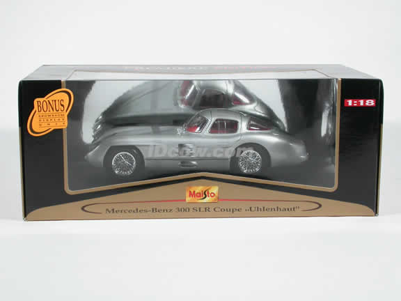 1955 Mercedes Benz 300 SLR Diecast model car 1:18 scale