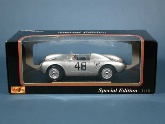 1958 Porsche 550 A Spyder #48 diecast model car 1:18 scale die cast by Maisto