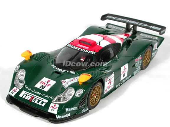 1998 Porsche 911 GT1 Le Mans #5 diecast model race car 1:18 scale die cast by Maisto
