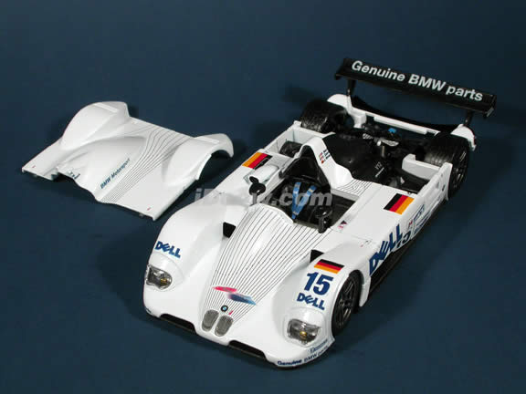 1999 BMW V12 LMR #15 Dell diecast model car 1:18 scale Le Mans Racer by Maisto
