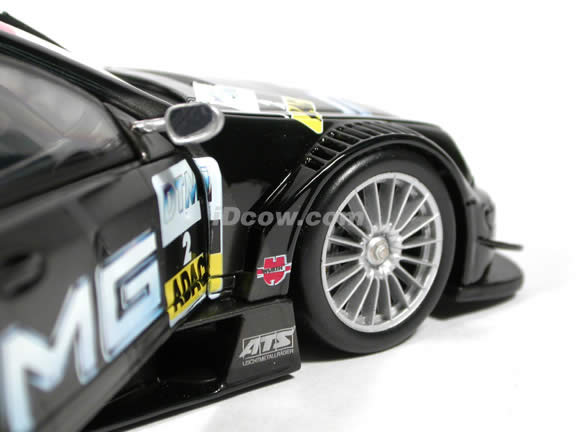 2002 Mercedes Benz CLK - DTM AMG #2 diecast model car 1:18 scale die cast by Maisto