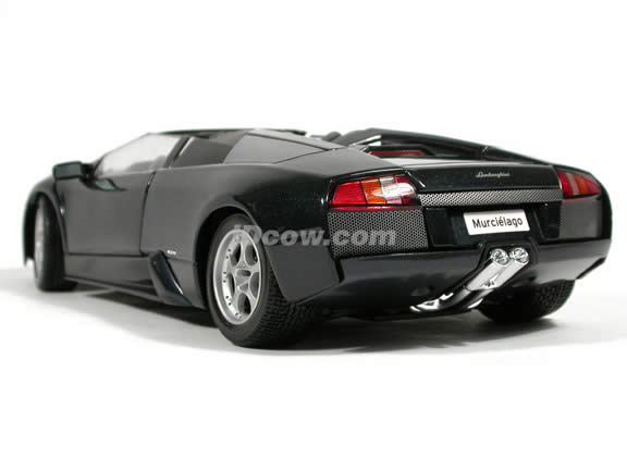 2005 Lamborghini Murcielago Roadster diecast model car 1:18 scale die cast by Maisto - Black
