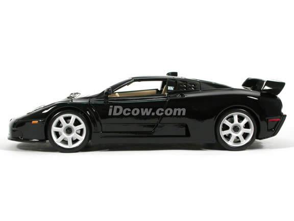 1994 Bugatti Dauer EB 110 Sport diecast model car 1:18 scale die cast by Maisto - Black