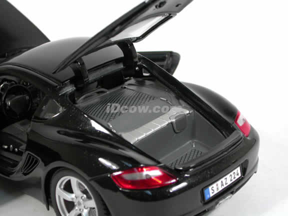 2006 Porsche Cayman S diecast model car 1:18 scale die cast by Maisto - Black 31122