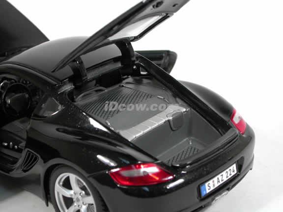 2006 Porsche Cayman S diecast model car 1:18 scale die cast by Maisto - Black 31122