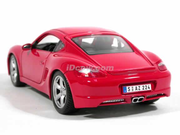 2006 Porsche Cayman S diecast model car 1:18 scale die cast by Maisto - Red 31122