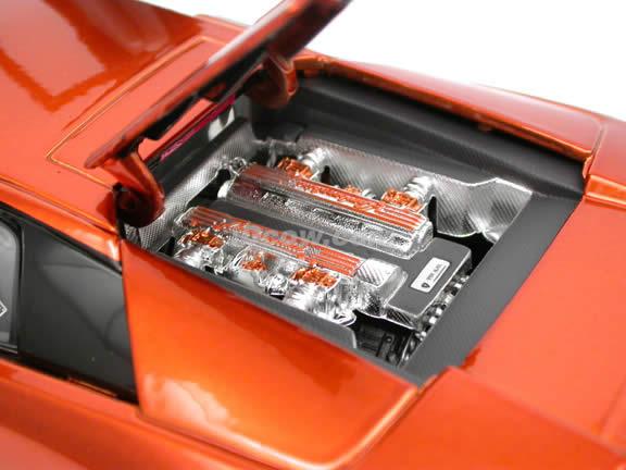 2004 Lamborghini Murcielago Coupe diecast model car 1:18 scale die cast by Maisto Playerz - Copper 31053