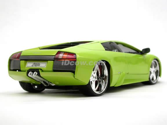 2005 Lamborghini Murcielago Coupe diecast model car 1:18 scale die cast by Maisto Playerz - Green 31053