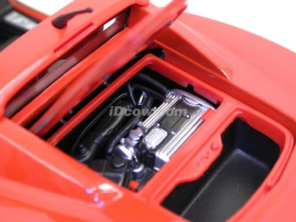 2002 Opel Speedster diecast model car 1:18 scale die cast by Maisto - Orange 31615