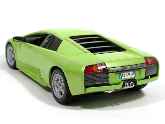 2002 Lamborghini Murcielago Diecast model car 1:18 scale by Maisto - Metallic Green 31638