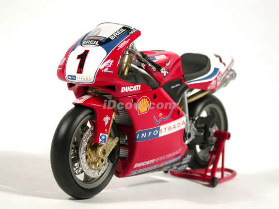 Ducati 998 Troy Bayliss #1 Superbike diecast motorcycle 1:12 scale die cast by NewRay