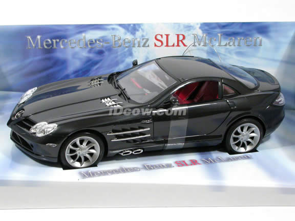 2005 RC Mercedes Benz McLaren SLR model car 1:16 scale - Black