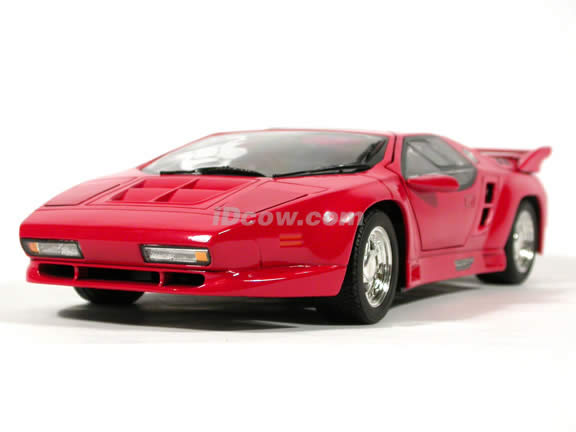 1991 Vector W8 Twin Turbo diecast model car 1:18 scale die cast by Ricko Ricko - Red