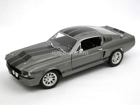 1967 Ford Mustang Shelby GT500E Eleanor diecast model car 1:18 scale by Shelby Collectibles - Limited Signature