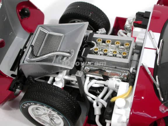 1965 Shelby Cobra Daytona Coupe diecast model car 1:18 scale by Shelby Collectibles - Red DC28902 Limited
