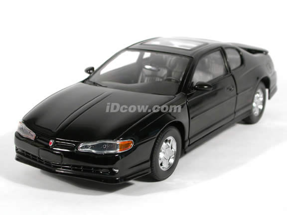 2000 Chevrolet Monte Carlo SS Diecast model car 1:18 scale die cast by Sun Star - Black