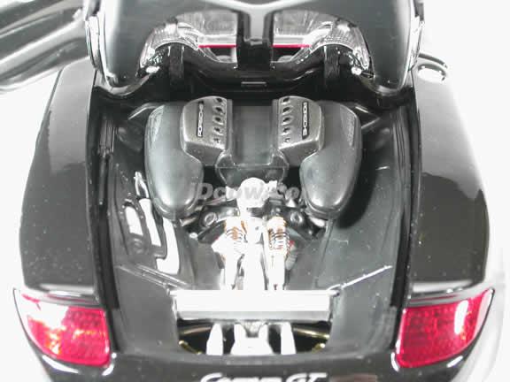 2004 Porsche Carrera GT diecast model car 1:18 scale die cast by Maisto - Black (Concept Model)
