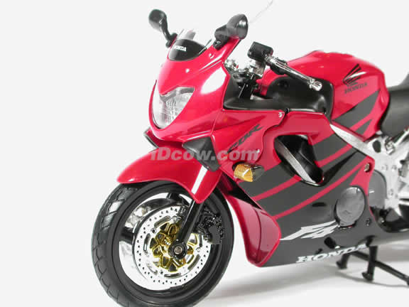 Honda CBR600 F4 Model Diecast Motorcycle 1:12 die cast by NewRay - Red