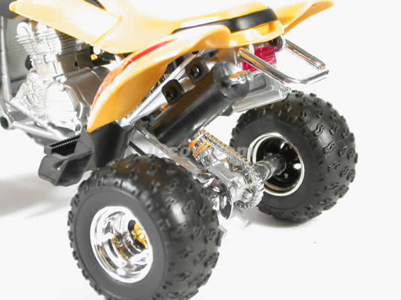 Bombardier DS650 Model Diecast ATV 1:12 die cast by NewRay - Yellow