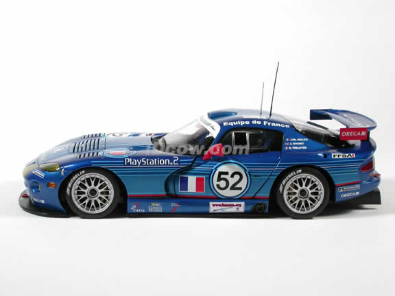 diecast car: model of dodge viper lemans