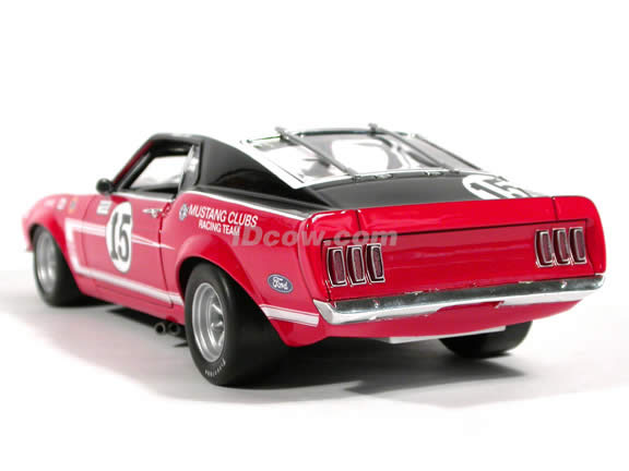 1969 Ford Mustang BOSS 302 Parnelli Jones #15 Trans-Am diecast model car 1:18 scale die cast by Welly