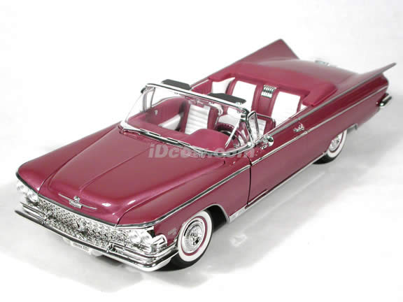 1959 Buick Electra 225 diecast model car 1:18 scale convertible by Yat Ming - Lavender Convertible